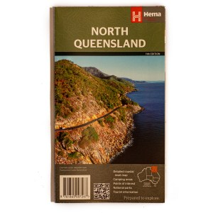 Map of tropical north queensland hema