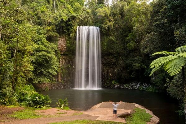 milla milla falls near cairns qld