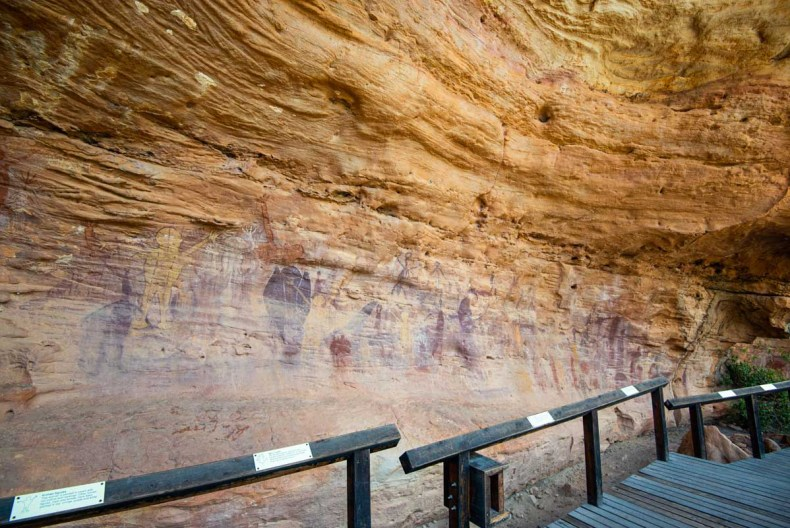 qunikan rock art laura