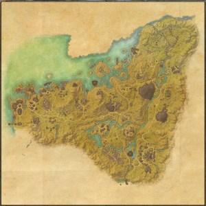 The maps of the Elder Scrolls Online - Malabal Tor