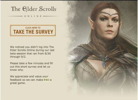 Elder Scrolls Online beta - Why didn't you play?