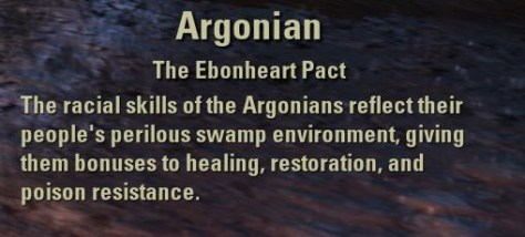 Exploring the Elder Scrolls Online - Argonian Description