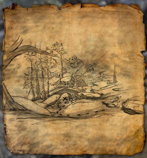 Treasure Map I for Bleakrock Isle