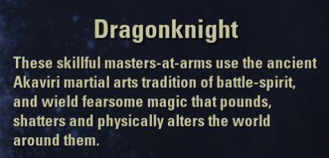 Exploring the Elder Scrolls Online - Dragonknight description