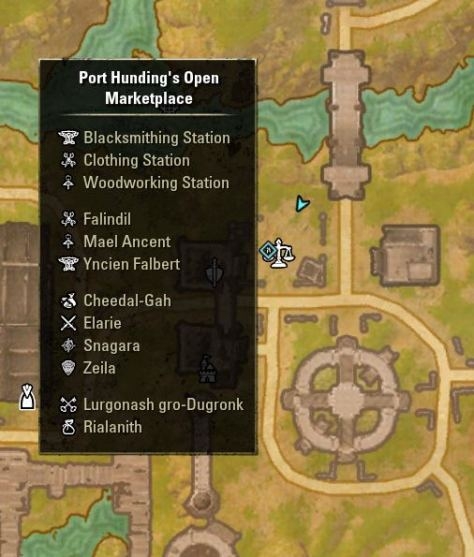 Exploring the ESO - Where's the bank in Port Hunding's Open Marketplace?
