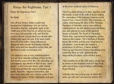 The Books of the Elder Scrolls Online - Rislav the Righteous, Part 1