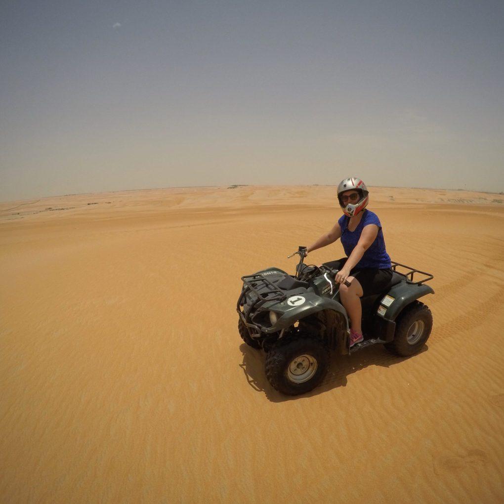 dune bashing quad bike abu dhabi