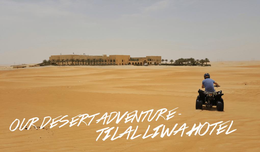 Tilal Liwa Hotel desert quad bike
