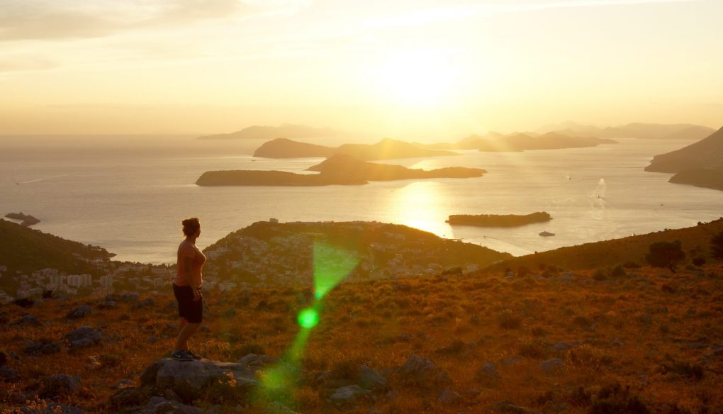 eco tuk tour dubrovnik sunset