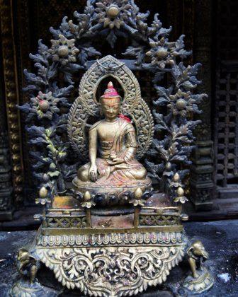 Hiranya Varna Mahavihar Golden Temple Kathmandu city tour Exploring Kiwis Nepal