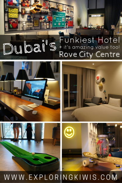 Roving around dubai the city 39 s funkiest hotel for Best value hotels in dubai