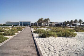 Saadiyat beach club Privilee review