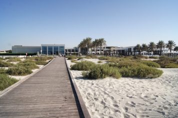 Saadiyat beach club Privilee review