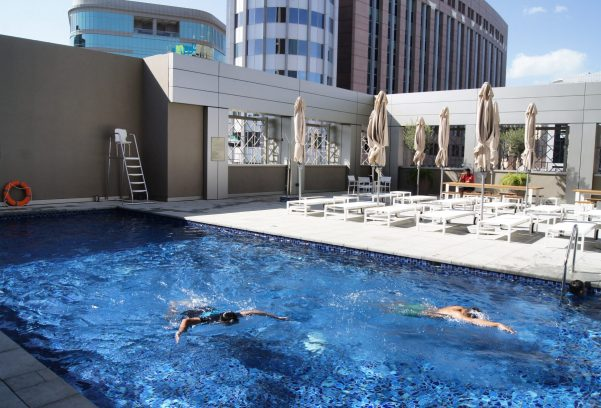 Rove City Centre Dubai review pool