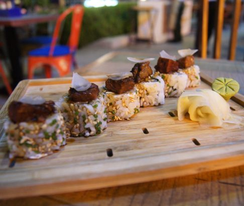 Catch 22 JBR Dubai sushi