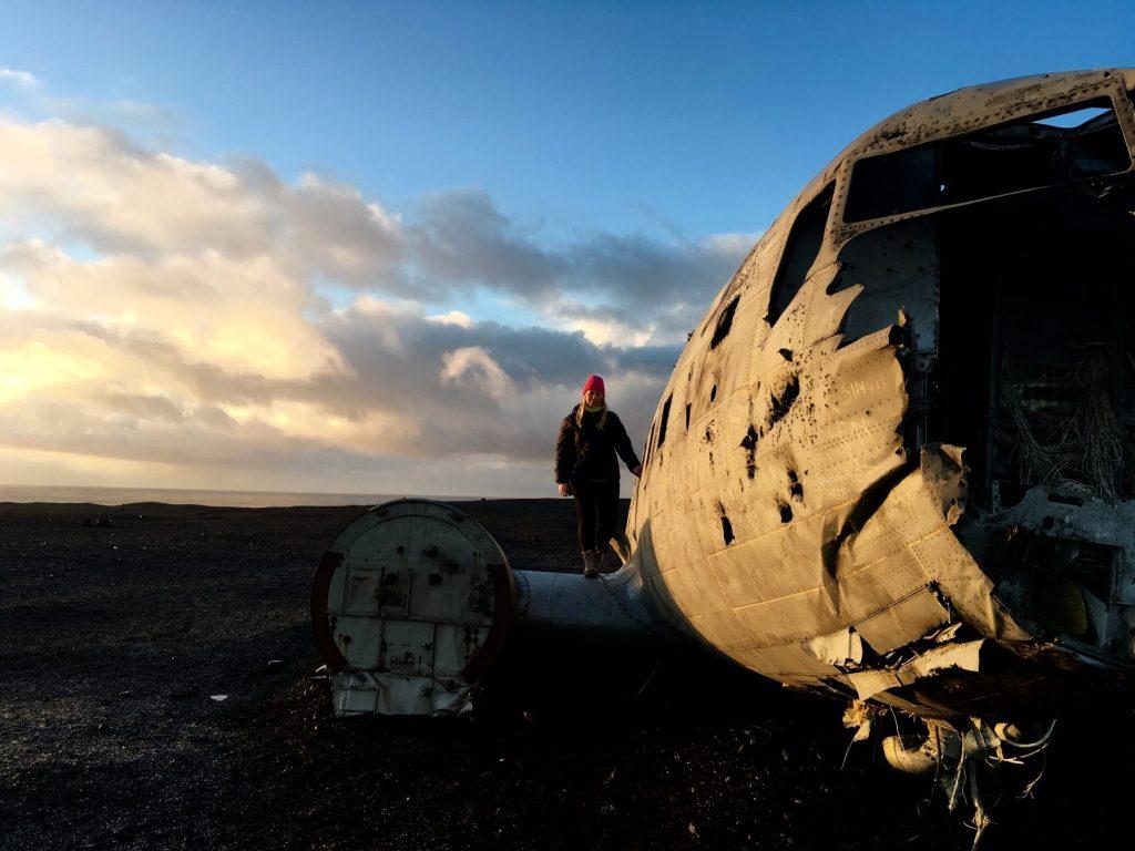 Exploring Kiwis Maria Iceland DC3