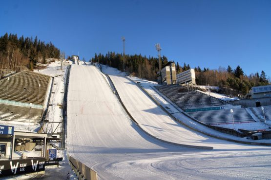Ski Jump Lillehammer Touring Cars Norway