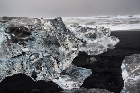 Jökulsárlón Diamond Beach winter South East Iceland Itinerary Ring Road