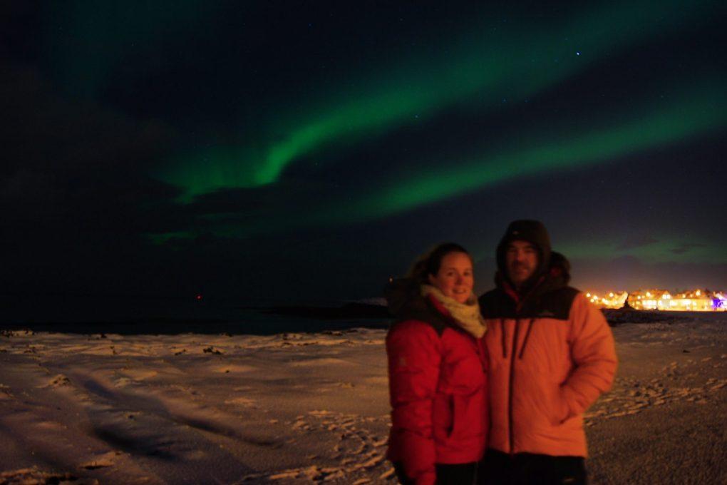 Northern Lights over Reykjavik, Moonwalker Tours