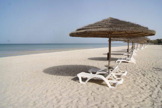 danat jebel dhanna resort Abu Dhabi review beach
