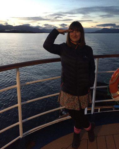 Zena Exploring Kiwis