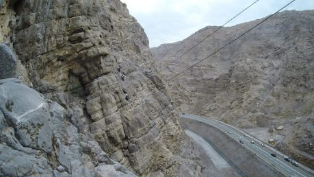 Jebel Jais Via Ferrata RAK