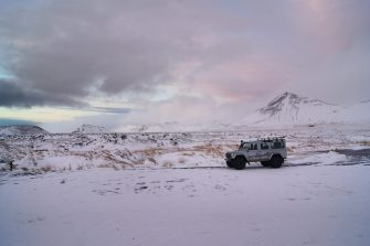 Snæfellsnes Peninsula Moonwalker Tours Iceland vehicle