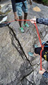 Borderlands - Adventure glamping in Sri Lanka advanced canyoning