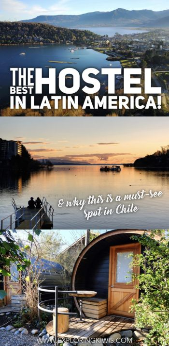 The best hostel in Latin America can be found in Pucon, Chile's adventure activity capital. This award winning backpackers welcomes travelers from around the world, offering amazing views, great activities and a friendly, inclusive environment. Find out why you should be planning a visit to Pucon to stay here!