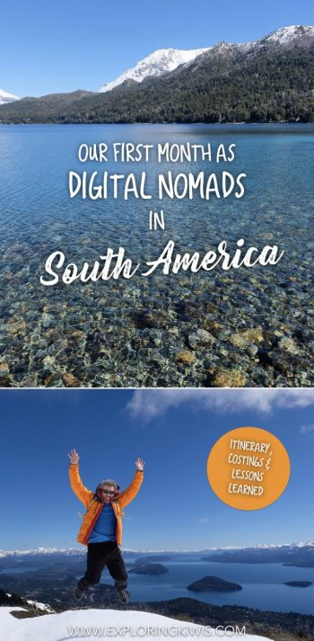 After a month working as digital nomads in South America we've got some tips to share! We've laid out our itinerary, transport and costings to help you plan your own trip plus discuss the lessons we've learnt along the way.