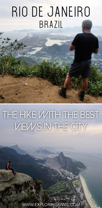 Rio de Janeiro is home to an amazing hike with incredible views. It's challenging, including free-climbing but worth every step. One for your bucket list next time you're in Brazil.