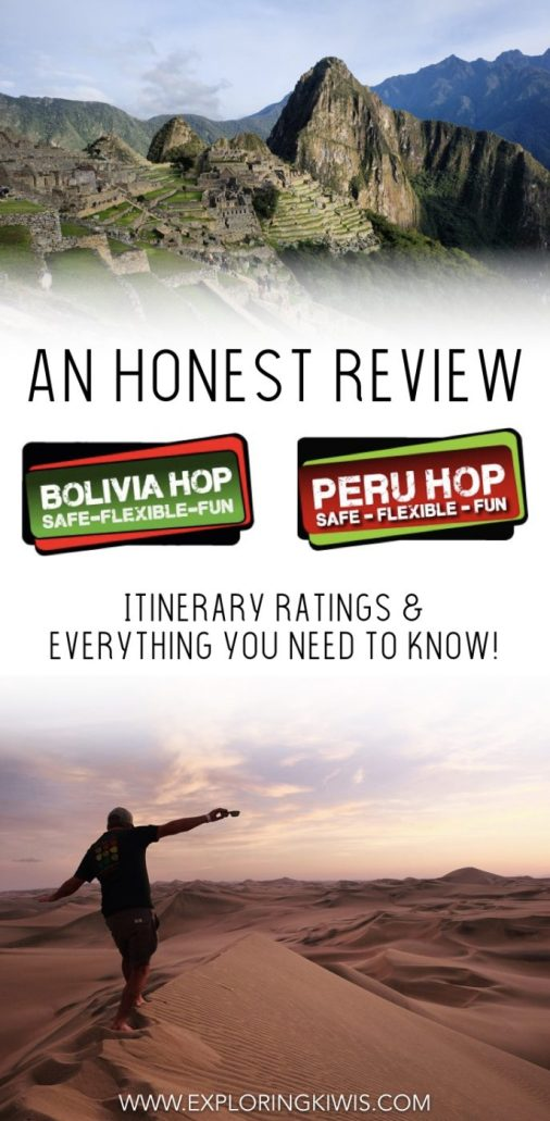 Bolivia Hop and Peru Hop are the best ways to move by bus through these amazing countries with the support of English-speaking guides. If this is your first time in South America, hopping your way through Bolivia and Peru really is your best transport option!