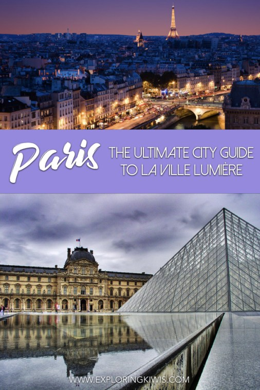 Travel through Paris with confidence. This guide provides accommodation, transport, activity and sightseeing suggestions. Everything you need to make your French vacation one to remember. #paris #parisitinerary #travel #paristravel