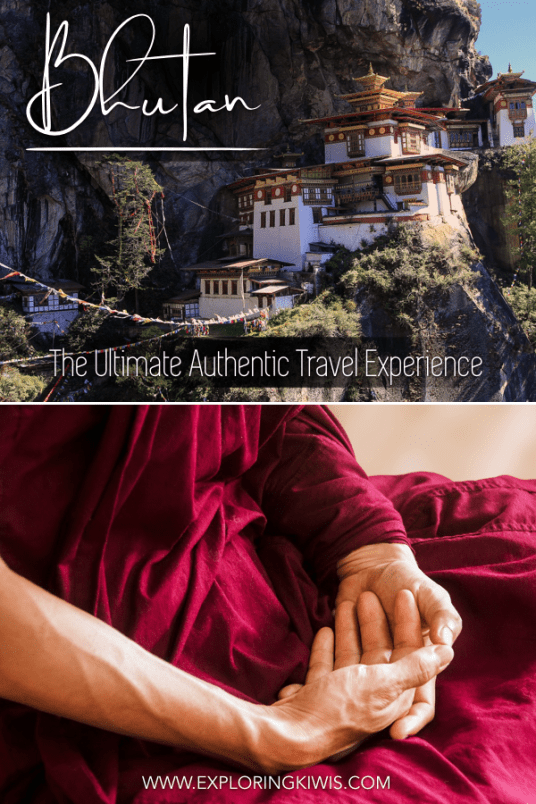 Bhutan is one of the few authentic travel destinations left. Find out why this Asian country should be next on your bucket list. From the Tiger's Nest to unique festivals, Bhutan is an amazing destination. #bhutan #bhutantravel #travel #destinationguide #bucketlist #tigersnest