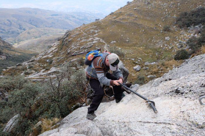 Laguna Churup Huaraz Peru free climbing