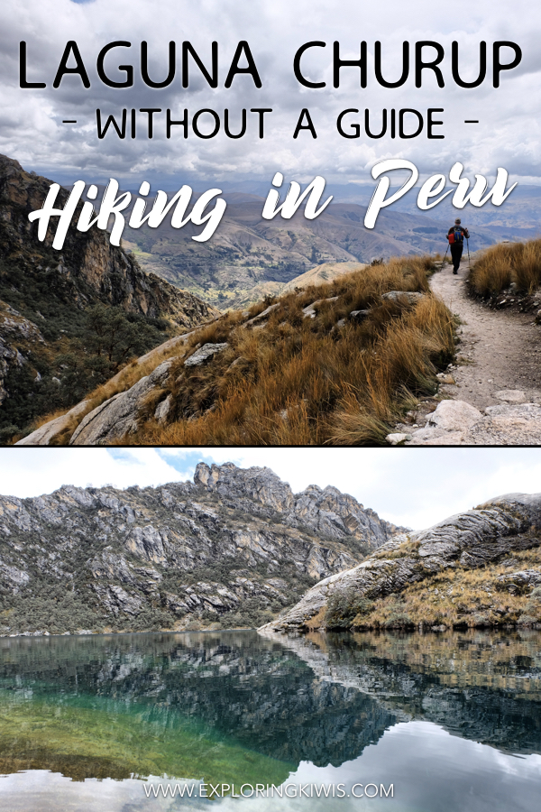 Laguna Churup is one of the best day hikes in South America.  Just out of Huaraz in Northern Peru, this trail includes incredible views, free climbing and a gorgeous lake.  Read our guide to find out what equipment to take, transport options and how to take this hike on without the use of a guide.  #southamerica #hiking #peru #incrediblesights