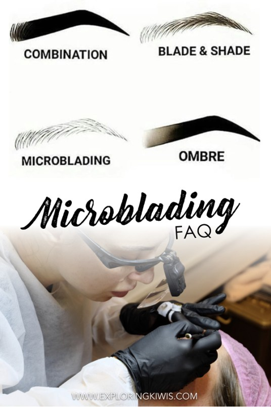 Microblading eyebrows - join us as we answer all your questions! What to expect from the procedure, pain, cost, time, healing process and the final look. Check out our before and after photos and find out if we'd do it all over again!