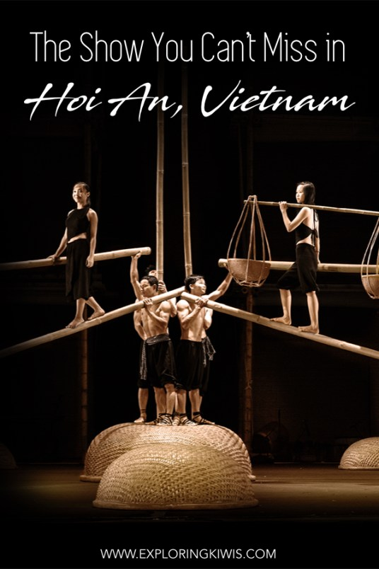 AO by Lune Production is the most incredible cultural cirque show you'll ever see! Based in Hoi An, Vietnam (along with Saigon/Ho Chi Minh City and Hanoi), their team of acrobats, dancers and actors will amaze you. A must-see on your Hoi An vacation. #travel #vietnam #culture #theatre
