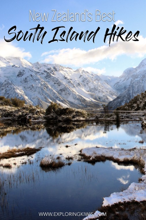 The South Island of New Zealand is home to some of the most incredible hiking in the world! From easy day hikes to multi-day treks, we're bringing you the best of the best on New Zealand's trails. Grab your hiking boots and poles and get yourself down to New Zealand now! #travel #hiking #newzealand