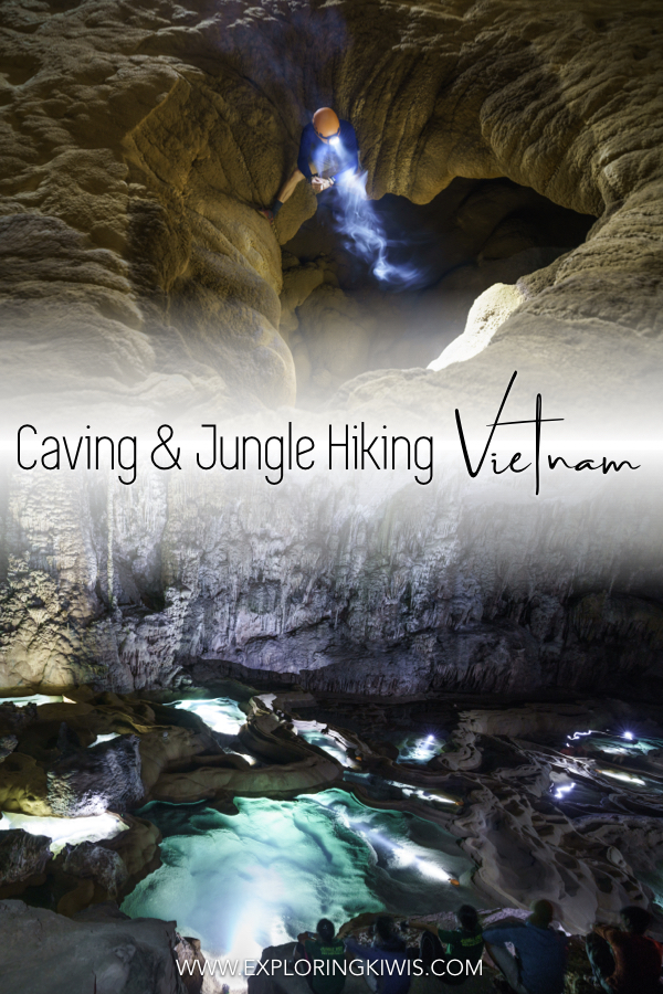 Looking for an amazing adventure in Vietnam? Find out why the Phong Nha Caves presented us with our biggest and most incredible challenge to date! #travel #vietnam #adventure #caving