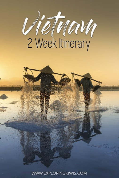 2 incredible weeks in Vietnam. Accommodation, transport, activities, visa requirements and much, much more. Everything you need to help you plan your own vacation to Vietnam. #travel #vietnam #vacationplanning
