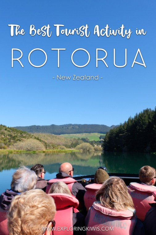 Looking for the most incredible activity for travelers in Rotorua? The Squeeze by NZ Riverjet includes an amazing jet boat ride through beautiful scenery and a swim in a hot water waterfall! It's an absolute must in the North Island. #newzealand #travel #rotorua