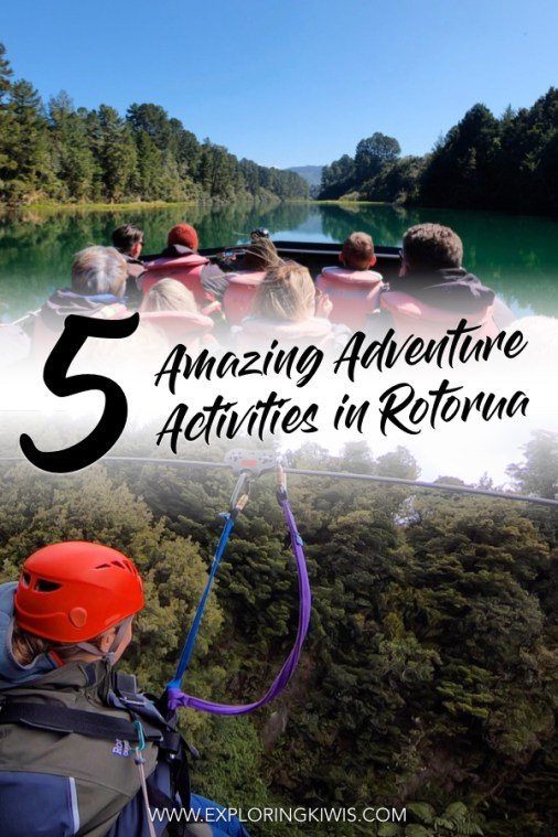 Rotorua is the adventure capital of New Zealand's North Island and these five activities are the best of the best. Prepare for serious fun, stunning natural scenery and a great dose of adrenaline as you prepare for your next trip. Are you up to the challenge? #rotorua #newzealand #travel
