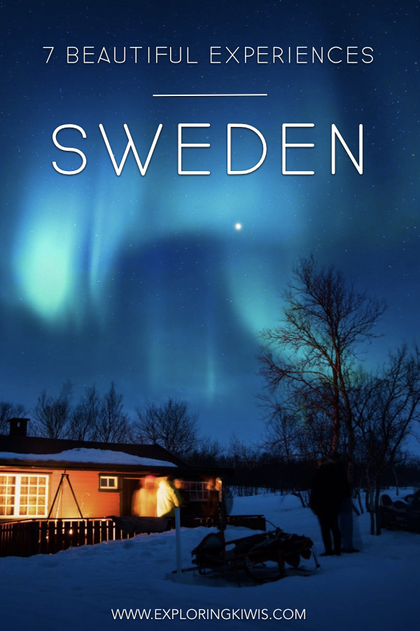 Sweden in a beautiful part of Scandinavia and in this post, we bring you the 7 most worthwhile places to visit and things to do.  Don\'t miss this part of Europe! #travel #sweden #europe