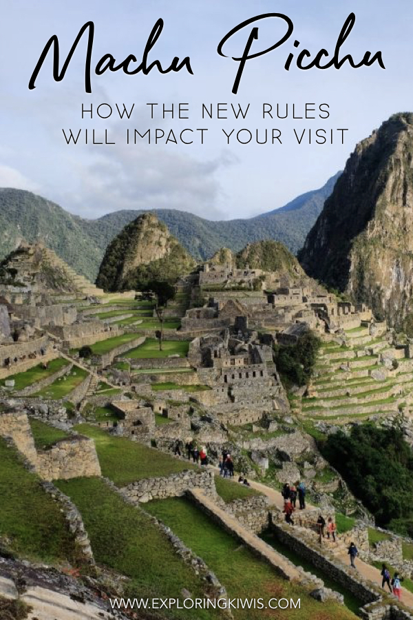 The Rules at Machu Picchu have changed - are you ready for them? One of the most visited sites in the world, this is a real vacation bucket list item! Don\'t let your holiday be ruined by confusion around the new rules - read this update before heading to Peru.