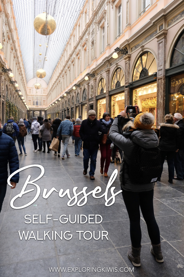 Brussels is a beautiful city and as it\'s flat and easy to navigate, it\'s the perfect self-guided walking spot! This guide brings you the best of Brussels\' attractions, along transport and accommodation suggestions. Maximise your time in Belgium\'s capital and get ready for a perfect city getaway! #travel #belgium #walkingtour #brussels