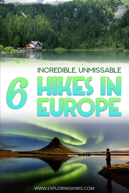 Europe has incredible hiking and this guide brings you the very best of them! With six amazing trails from France to Serbia and many spots in between, this is a must-read for nature-lovers and hikers!