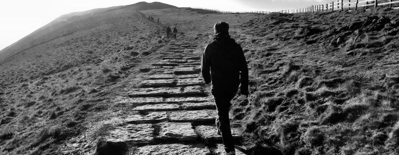 Path up Mam Tor