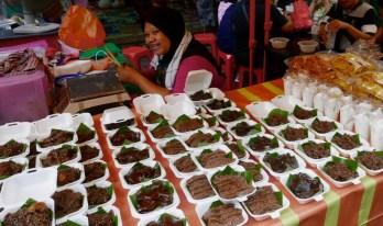 Street market, Kuala Lumpur