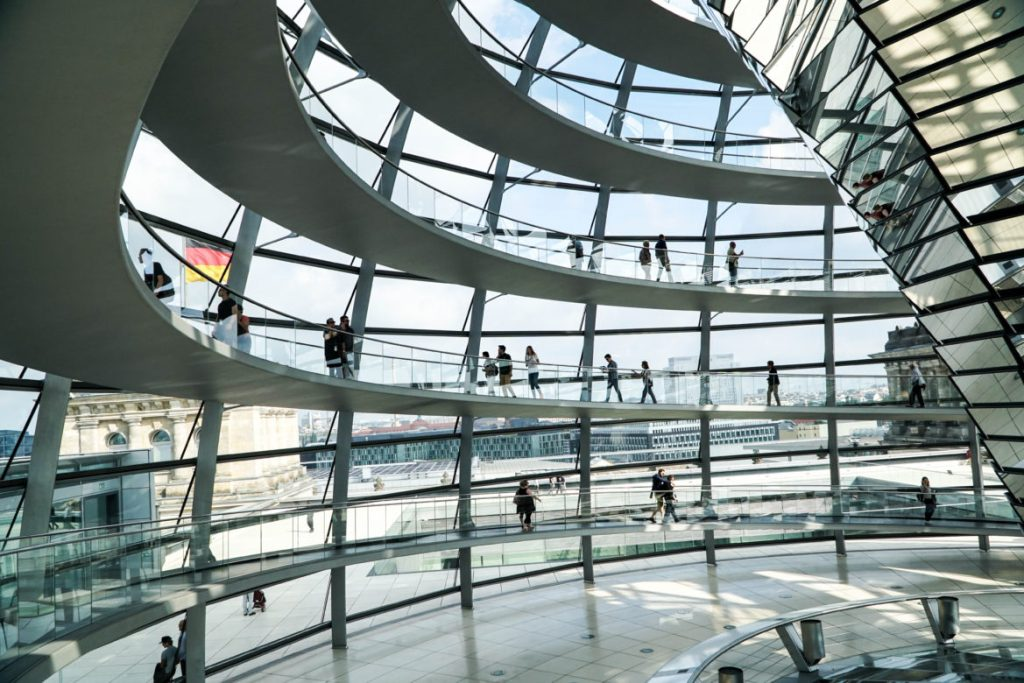 Touring the Reichstag in Berlin with Exploring Our World on #TheWeeklyPostcard